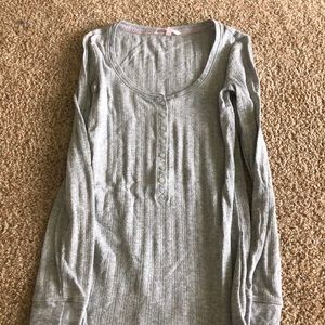 Victoria's Secret Henley long Sleeve